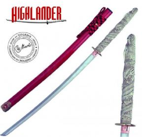 Officially Licenced Marto Highlander, Dragon Katana of Duncan Macleod